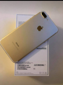 Iphone 7+ 128GB Gold MINT Condition (10/10)-$699