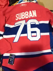 PK Subban Montreal Canadiens Cent Jersey New w Tags Youth L/XL