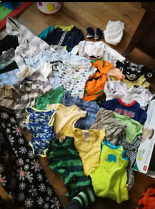 Baby Boy's 0-6 months clothing