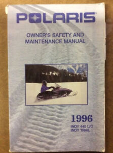 POLARIS 96 INDY/TRAIL 440 L/C OWNERS MANUAL DRW