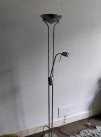Father & Child Uplighter Floor Lamp