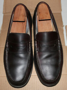 Men's loafers, brown leather Sperry Top-Siders, size 12
