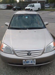 2001 Honda Civic Sedan(mississauga)