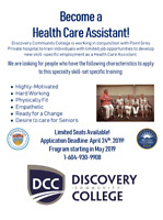 Want to Become a Health Care Assistant?