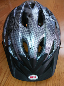 Toddler Bell bicycle helmet 52-56 cm with visor and rear lights
