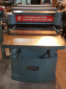 King Industrial 20 inch Extreme Planer 5 HP