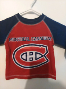 Montreal Canadiens Long Sleeve Shirt