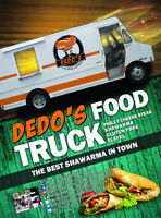 catering ,family gathering ,wedding - midnight snack, food truck