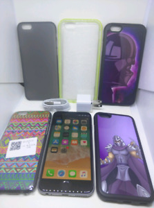 Apple iPhone 6S 128GB unlocked with case, charger and plug