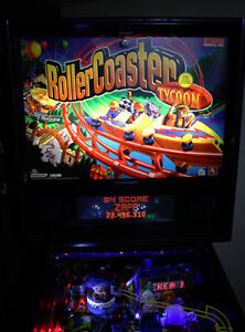Roller Coaster Tycoon Pinball by Stern Man cave gameroom arcade