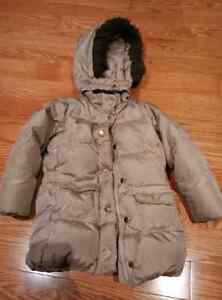 Gap Down Filled Winter Jacket for Girls Size Toddler 5 years & S