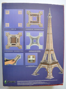 Wrebbit 3D puzzle- Eiffel Tower London Ontario image 2
