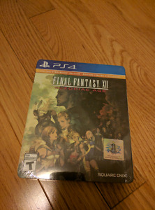 Final Fantasy XII The Zodiac Age Steel Book PS4