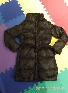 Gap light weight down coat -- medium length