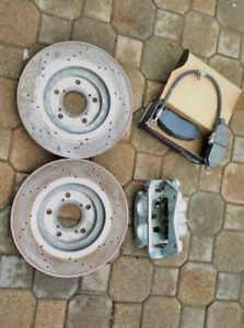 2009-2016 Honda Pilot - Brake rotor, pads and caliper.