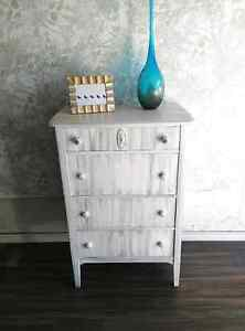 Whimsical gray and white dresser Kitchener / Waterloo Kitchener Area image 2