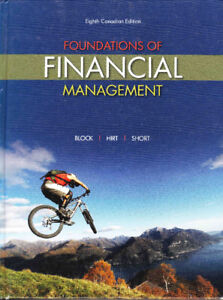 Foundations of financial management buy or sell books in toronto foundation of financial management 8th canadian ed by block fandeluxe Image collections
