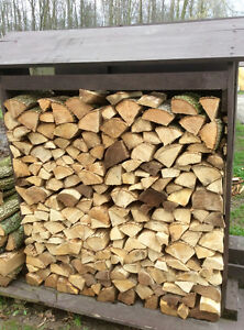 Half Face Cord Of Dry Split Hardwood Firewood - St. Thomas