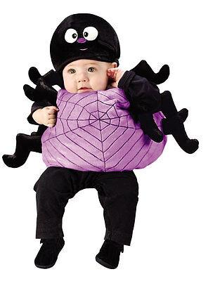 Baby Jungen Mädchen Spinne Büchertag Woche Halloween Kostüm Kleid Outfit 1-2 ()