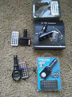 Car USB,SD player FM Transmitter with remote