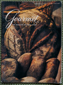 Vintage collection of Gourmet Magazine
