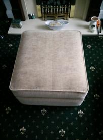 Hardly used footrest