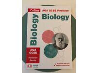 Collins AQA GCSE Biology Revision Book, Excellent Condition