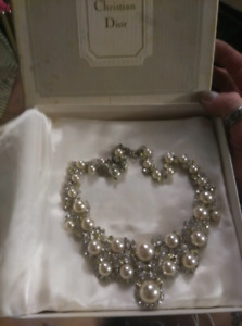 1967 Germany faux pearl Christian Dior Necklace
