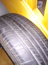 Spare tyre was on a Nissan quasqai extremely little use