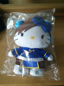 Chun-Li Hello Kitty large plush