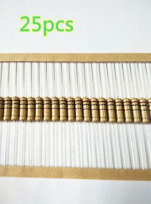 25pcs 100 Ohm 2w 2 Watt -5 Carbon Film Resistor -us Stock