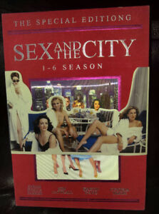 DVD SERIE COMPLÈTE SEX AND THE CITY