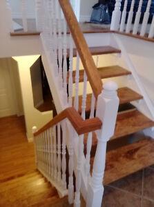 Sablage des planchers bois franc / Sanding hardwood floors