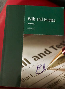 Wills and Estates, 3rd ed. Law Clerk Program