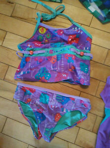 Girl's bathing suits -gently used -size 5 Gatineau Ottawa / Gatineau Area image 1