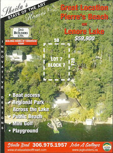 EXCELLENT VALUE FOR CLEARED LAKE LOT ON PIERRES BEACH