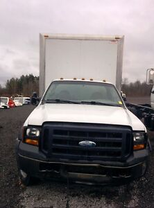 2006 Ford F-550 Van body Other
