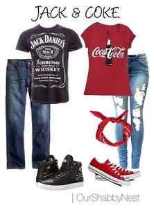 Looking for Jack Daniel's and coca cola tshirts