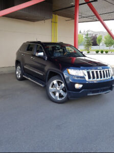 2012 JEEP GRAND CHEROKEE OVERLAND-ONE OWNER-
