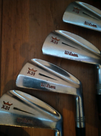 Wilson X31 irons (early 1970s)