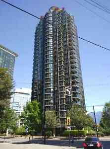 Unfurnished Downtown Vancouver Coal Harbour Studio