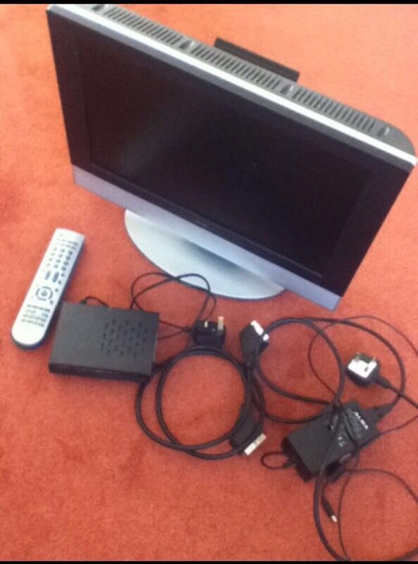 "Alba 19"" TV And DVDin Moredun, EdinburghGumtree - Alba 19"" TV and DVD combo plus Alba Freeview box, including power supply and scart cable(NO OFFERS,PLEASE)"