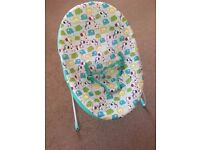 Bright Starts Parade of Pals baby chair / bouncer