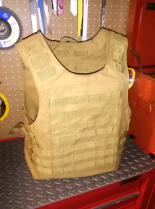 Kahki molle vest medium plate carrier
