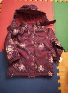 BRAND NEW: WINTER OUTERWEAR (SIZE : 4T)- PURPLE-$20 ONLY