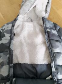 Baby snowsuit 6-9 months