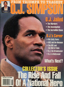 O.J. Simpson From Triumph to Tragedy 1994 Mag. Larry Flynt PUB.