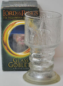 Lord of the Rings Four Glass Goblets with Lights Kitchener / Waterloo Kitchener Area image 5