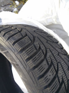 4x Hankook Winter i*Pike RS tires 225/55/17