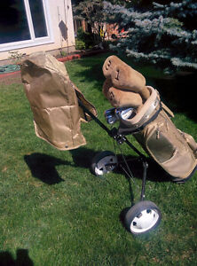 set of ladies right hand golf clubs